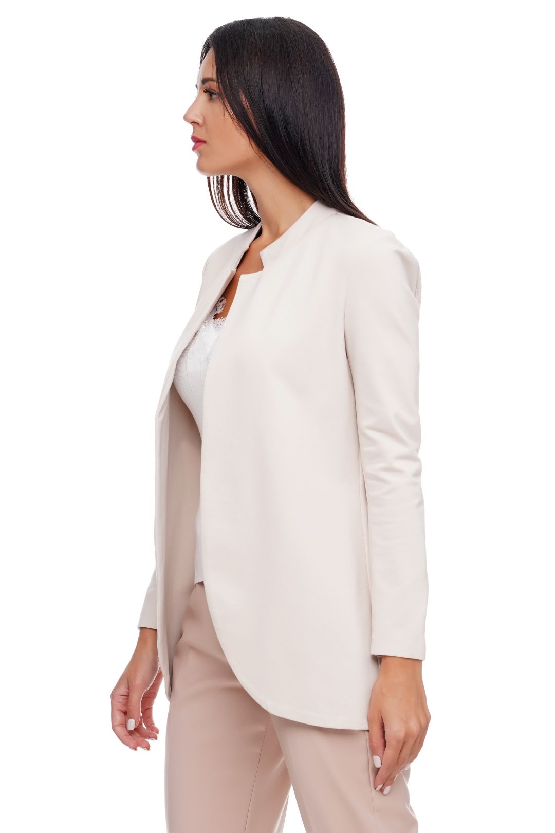 ANGELA DAVIS BLAZER LONG