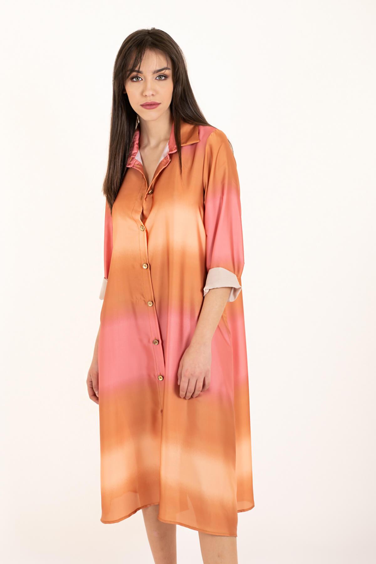 abito chemisier degrade rosa art 2